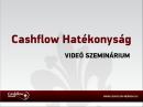 Cashflow Hatékonyság Videó Szeminárium